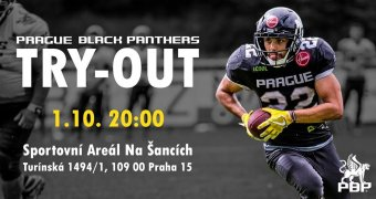 Try-Out Prague Black Panthers